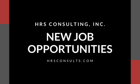 HRS Consulting_New Job Opportunities